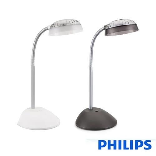 【飛利浦PHILIPS】 酷樂 LED檯燈 66027(黑/白)