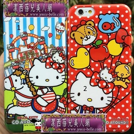 Hello Kitty Go Around!!會場iPhone6S/6Plus軟殼  -upcu00201504