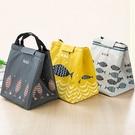 [拉拉百貨]快樂 魚魚系列 便當袋 飲料袋 環保提袋 保溫袋 保冷袋 防水 野餐袋 日式魚兒