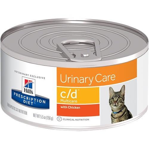 【寵物王國】希爾思c/d泌尿系統護理貓處方罐156g
