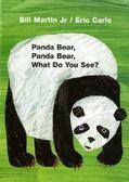 【麥克書店】PANDA BEAR, PANDA BEAR, WHAT DO YOU SEE? /硬頁書