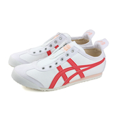 Onitsuka Tiger MEXICO 66 SLIP-ON 運動鞋 休閒鞋 白/紅 女鞋 1182A087-100 no304