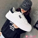 小白鞋 小白鞋女2021春季新款女鞋學生百搭厚底板鞋爆款休閒鞋子女潮 小天使 618