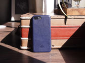 alto iPhone 8 Plus / iPhone 7 Plus 真皮手機殼背蓋 5.5 吋 Original  - 海軍藍【可加購客製雷雕】皮革保護套