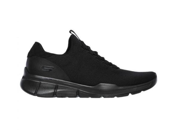 SKECHERS系列-EQUALIZER 3.0 男款黑色運動鞋-NO.52928BBK