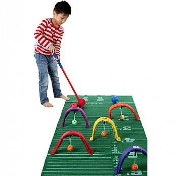 【ISPORT 體能教具】跳遠槌球組 ← 感覺統合 幼兒園 教具 設備 器材 WEPLAY