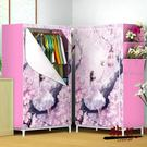 衣櫃 簡易宿舍單人衣櫥衣櫃 簡約現代多功能寢室學生小號布衣櫃經濟型【全館限時88折】TW