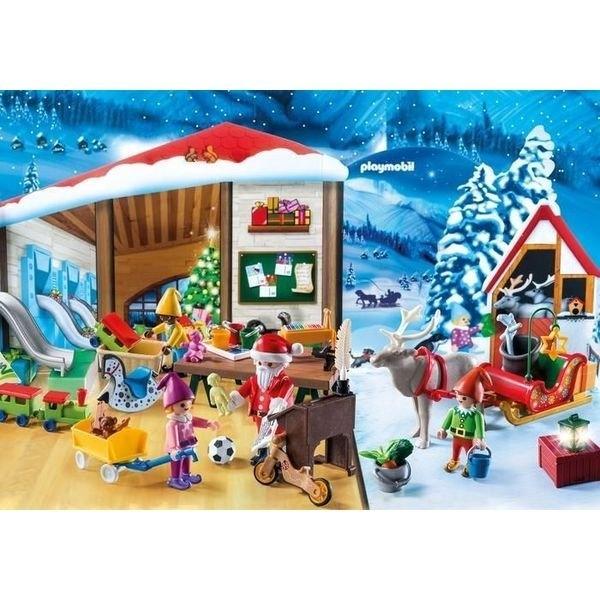 Playmobil 摩比 9264 聖誕老人降臨曆