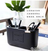 AH&DE簡約筆筒創意時尚韓國小清新學生化妝刷歐式復古筆筒收納盒 夏洛特居家
