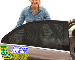 [106美國直購] 遮陽罩 ShadeSox Universal Fit Car Side Window Baby Sun Shade (2 Pack) | Protects Your Baby
