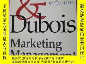 二手書博民逛書店法語版罕見Marketing Management 科特勒和杜博