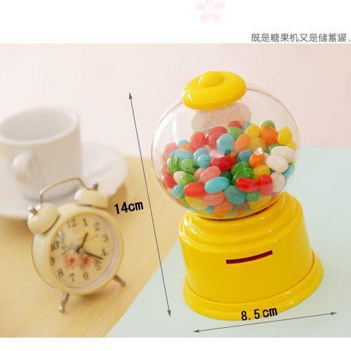 【培菓平價寵物網 】韓版創意迷你扭糖機 糖果機 儲錢罐