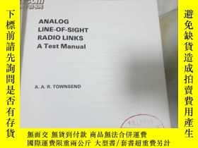 二手書博民逛書店ANALOG罕見LINE-OF-SIGHT RADIO LINK