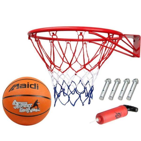 戶外兒童籃球框壁掛式青少年籃球架室內標準投架 萬客居