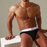 男生三角褲 ADANNU 新款挖鏤漏空性感男士三角褲棉質純色u凸囊袋透氣內褲個性