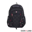 OVERLAND - 美式十字軍 - 美式經典新譯交叉菱格紋後背包 - 30741