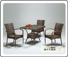 {{ 海中天休閒傢俱廣場 } } G-39 摩登時尚 餐廳系列 284-4 3103型椅(單只)