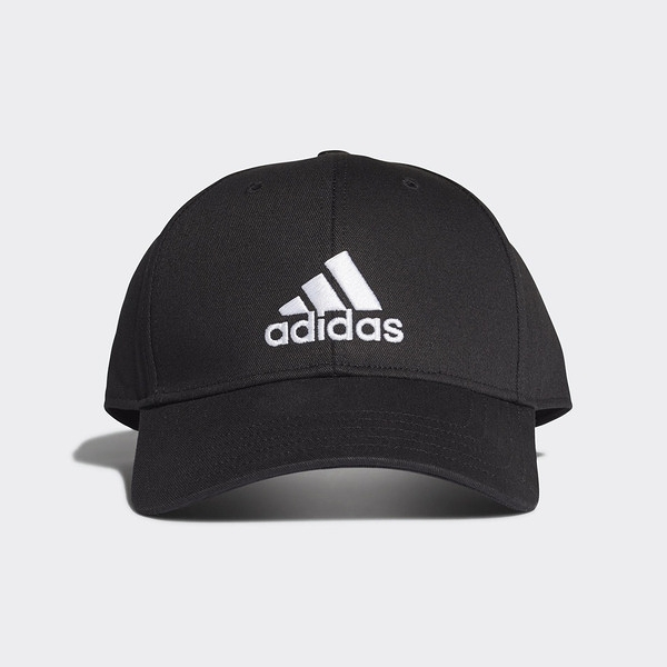 Adidas Bball Cap Cot [FK0891] 男女 老帽 鴨舌帽 棒球帽 六分割 經典款 防曬 黑