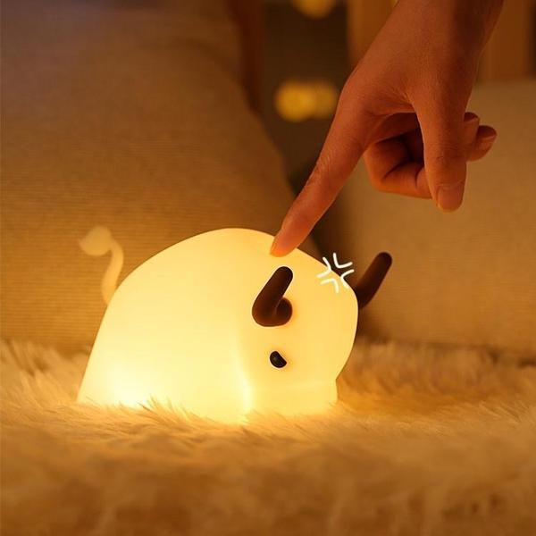 小夜燈嬰兒喂奶護眼床頭燈usb臥室女生新款2021睡覺燈led起夜柔光 「ATF夢幻小鎮」