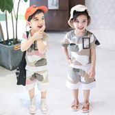 童裝夏裝1-3-5周歲正韓中小童男童純棉寶寶洋氣套裝潮