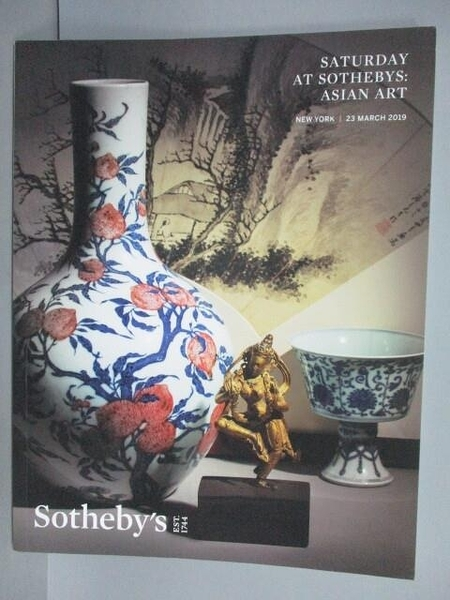 【書寶二手書T4/收藏_FO3】Sotheby s_Saturday at Sotheby s…2019/3/23
