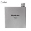 鈦工匠 Ti artisan 重88克 鈦金屬酒壺 175ml 純鈦壺 攜帶酒瓶 隨身迷你酒瓶 6盎司 Ta8602