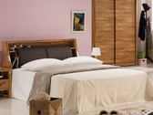 床架 QW-375-5A 克里斯5尺雙人床 (床頭+床底)(不含床墊) 【大眾家居舘】