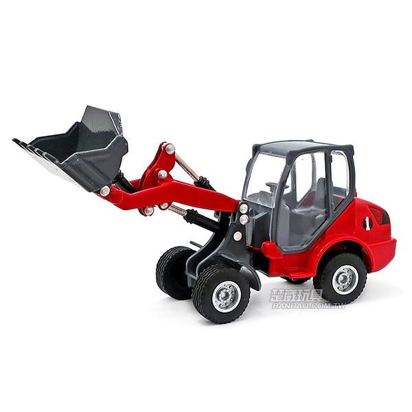 HY TRUCK華一 6012-1 R 鏟車/紅 工程合金車模型車 鏟裝機 鏟土機(1:60)【楚崴玩具】