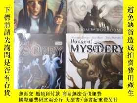 二手書博民逛書店house罕見of mystery 4本 英文 漫畫Y458729 vertigo
