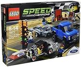 LEGO 樂高 Speed Champions 福特 F-150 RAPTER&福特款 A 熱杆 75875