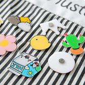文具 卡通冰箱留言磁鐵 可愛造型 童趣 貼便簽 貼照片  造型磁鐵 【PMG243】123ok