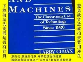 二手書博民逛書店Teachers罕見And Machines: The Clas