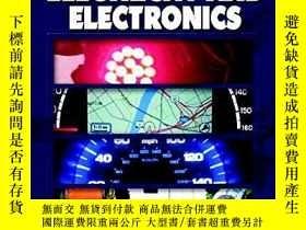 二手書博民逛書店Automotive罕見Electricity And Electronics (halderman birch