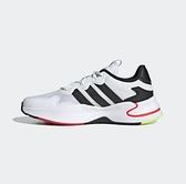 Adidas Roamer 男款白黑色運動慢跑鞋 FY6699