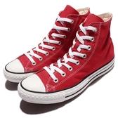 Converse Chuck Taylor All Star 紅 白 基本款 帆布鞋 男鞋 女鞋【PUMP306】M9621C