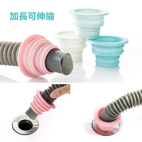 伸縮排水管防臭密封圈 可伸縮 防臭 矽膠密封圈 密封塞