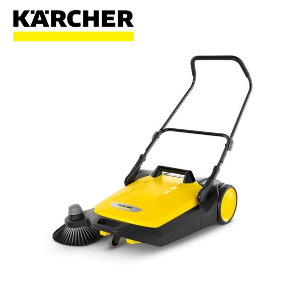 【德國凱馳 Karcher】加大型手推式掃地機 S6 (大面積、粉塵、停車場掃除必備)