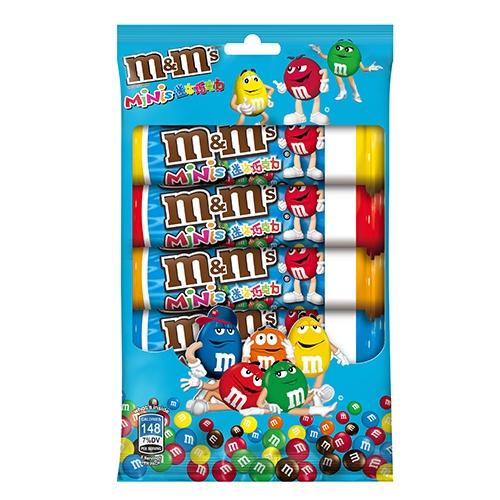 M&M S迷你巧克力30.6g x5入/包【愛買】