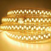 【OutdoorBase】LED高亮度防水軟燈條10米(暖黃)-23243