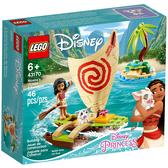 樂高積木 LEGO《 LT43170 》迪士尼公主系列 - Moana's Ocean Adventure╭★ JOYBUS玩具百貨