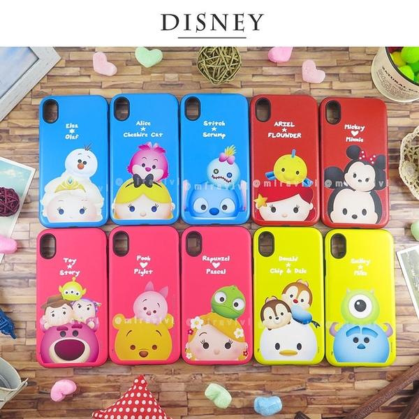 Disney迪士尼iPhone XR磨沙雙料殼_TsumTsum經典系列