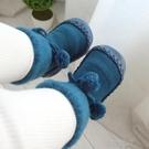 嬰兒防滑襪 寶寶厚襪子冬加厚加絨兒童地板防滑鞋襪軟底嬰兒襪子冬季加厚保暖