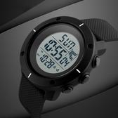 一件8折免運 兒童錶電子錶男學生運動戶外大數字式簡約兒童防水夜光多功能手錶