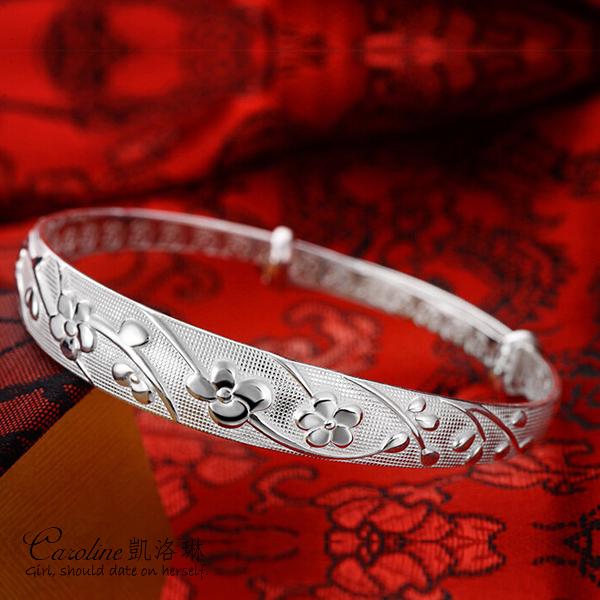 《Caroline》★【魚水情深】925銀手環.典雅設計優雅時尚品味流行時尚手環67643