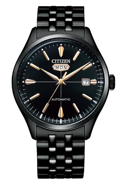 【分期0利率】星辰錶 CITIZEN 箱型玻璃 機械錶 40mm 原廠公司貨 NH8395-77E