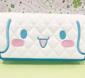 【震撼精品百貨】大耳狗_Cinnamoroll~Sanrio 大耳狗喜拿長夾-格紋#60523