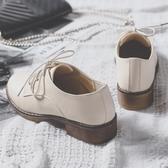 學生鞋女 女鞋2020新款秋鞋學院風單鞋女粗跟繫帶英倫小皮鞋女圓頭大碼 小天後