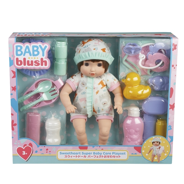 Baby Blush 親親寶貝 娃娃精選配件禮盒組 玩具反斗城