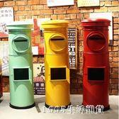 郵筒特大號模型信箱郵箱攝影道具酒吧咖啡館復古裝飾擺件 1995生活雜貨igo