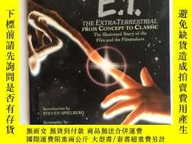 二手書博民逛書店E.T.罕見The Extra-Terrestrial from